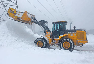 Commercial Snow Removal in New Jersey